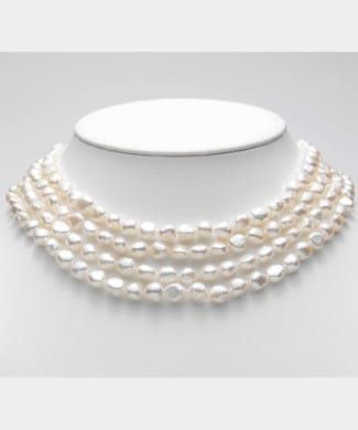 Filo con perle barocche | Gioielleria Caruso