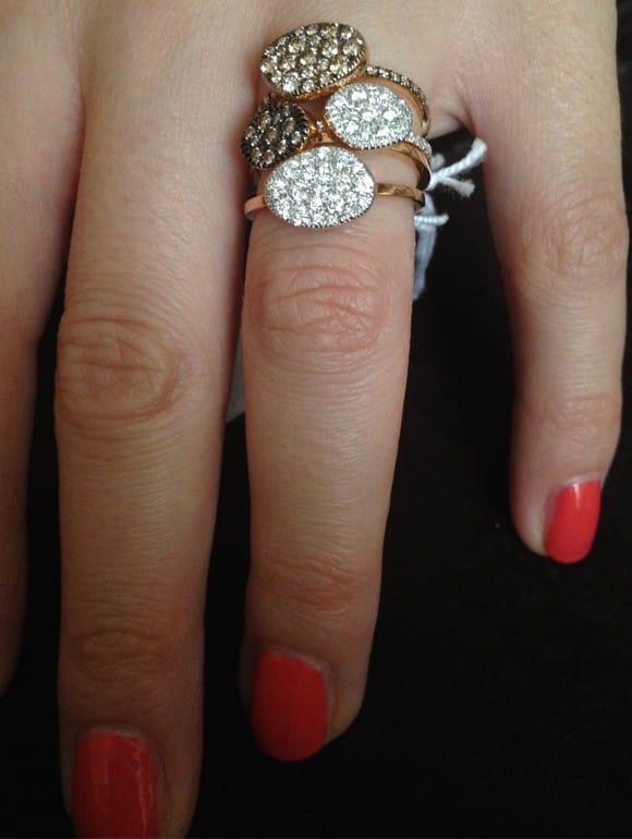 Anelli con diamanti | Gioielleria Caruso