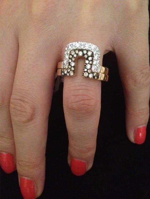 Anello con diamanti | Gioielleria Caruso