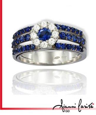 Anello les classiques con diamanti | Gioielleria Caruso