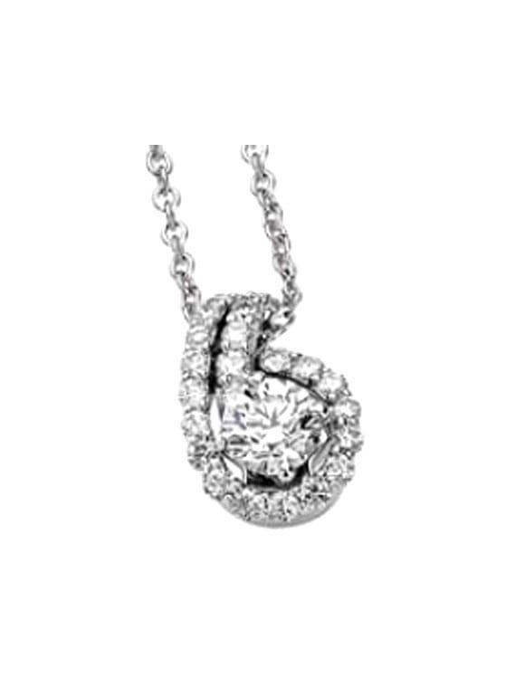 Girocollo ititoli punto luce con diamanti gioielli caruso for Punto luce bari