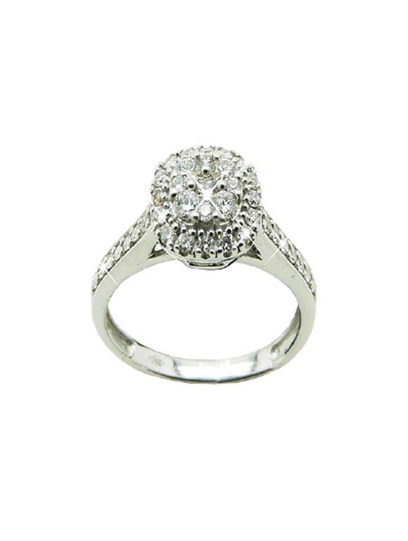 Anello fani gioielli con diamanti | Gioielli Caruso
