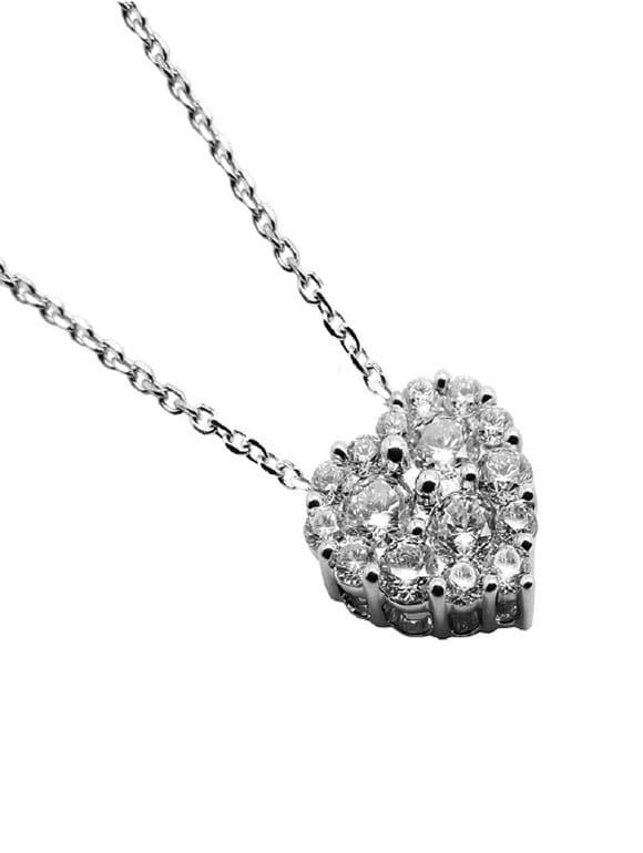 collana con diamantino
