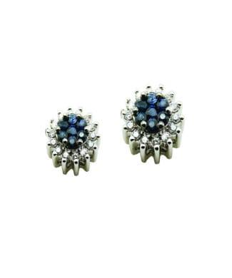 Orecchini con zaffiri e diamanti | Gioielli Caruso