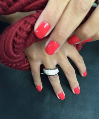 Anello Fani con diamanti bianchi e neri | Gioielli Caruso