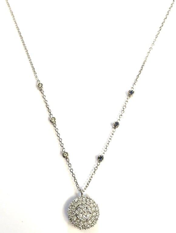 Collana Fani gioielli con zaffiri e diamanti | Gioielli Caruso