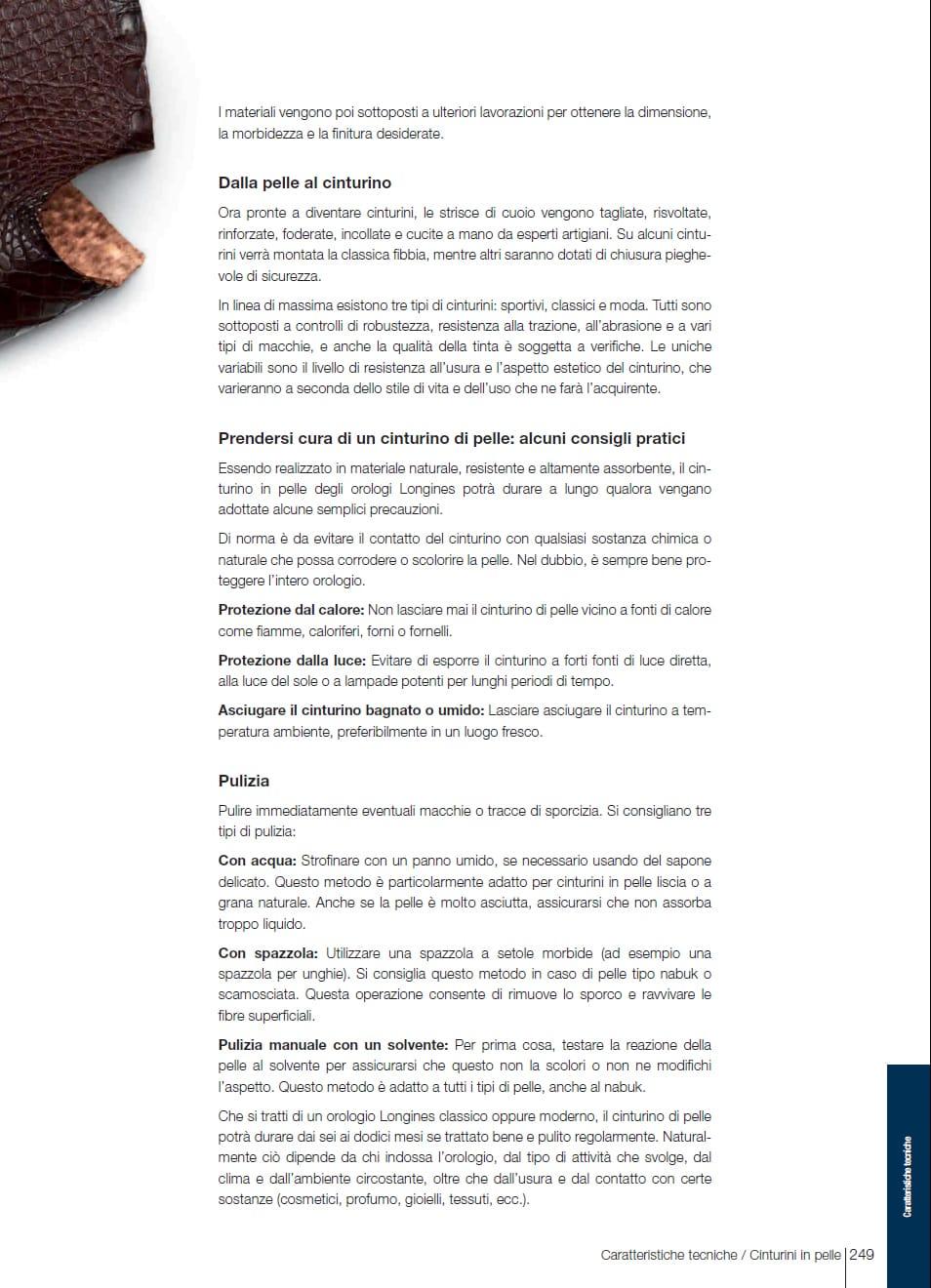 Cinturini in pelle | Gioielleria Caruso