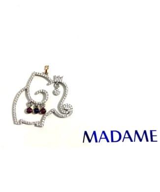 Elefante Madame gioielli con diamanti | Gioielleria Caruso Napoli