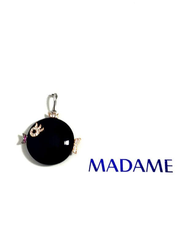 Pesce Madame gioielli con diamanti | Gioielleria Caruso Napoli