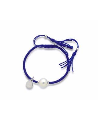 Bracciale Mikiko Joy in sagola blu | Gioielleria Caruso Napoli