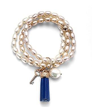 Bracciale Nihama con perle barocche | Gioielleria Caruso Napoli