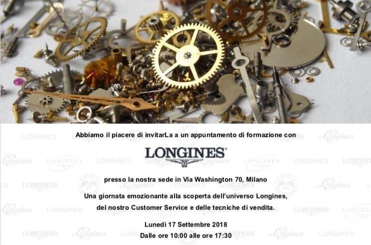 Vincenzo Caruso Certificate Longines | Gioielleria Caruso Napoli