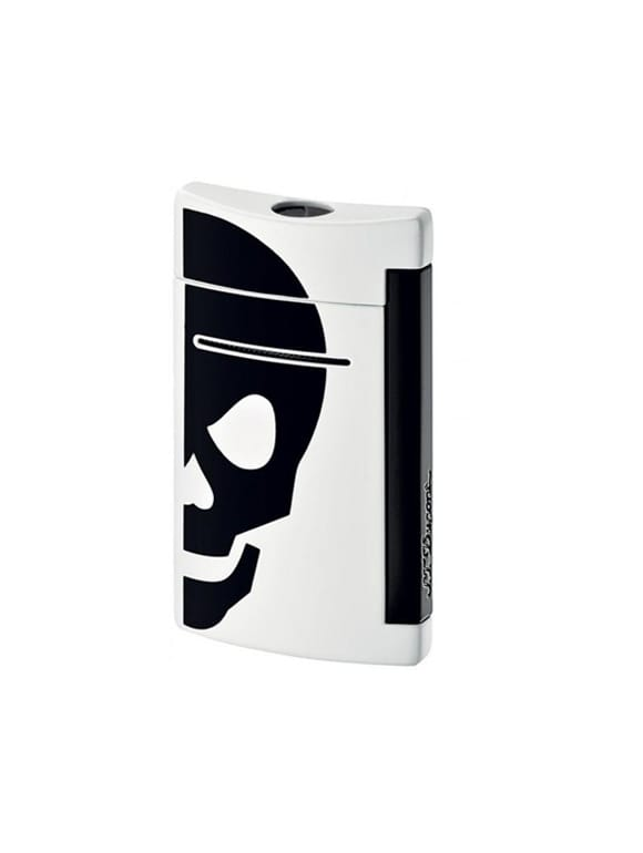 Minijet White With Black Skull   Gioielleria Caruso