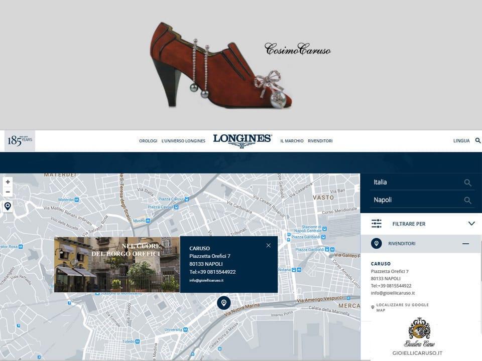longines locator | Gioielleria Caruso Napoli