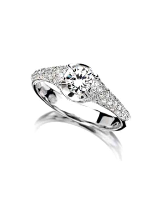 prezzo scontato per tutta la famiglia bello e affascinante Anello Ititoli diamond xl pavè
