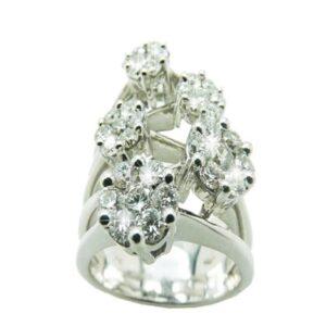Anello tennis con diamanti   Gioielli Caruso