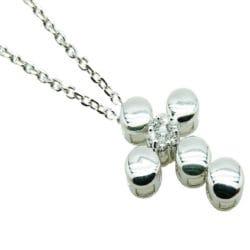 Collana con croce e diamanti | Gioielli Caruso