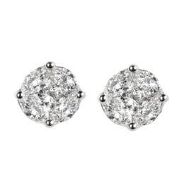 Orecchini con diamanti taglio navette | Gioielli Caruso