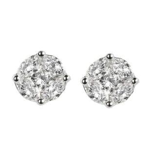 Orecchini con diamanti taglio navette   Gioielli Caruso