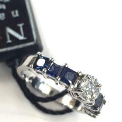 Anello Fani con zaffiri e diamanti | Gioielli Caruso