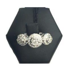 Anello fani gioielli trilogy con diamanti | Gioielli Caruso