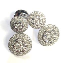 Orecchini fani gioielli trilogy con diamanti | Gioielli Caruso