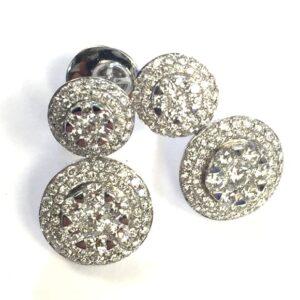Orecchini fani gioielli trilogy con diamanti   Gioielli Caruso
