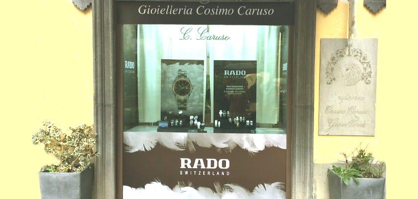 Vetrina Speciale Rado HyperCrhome Diamonds | Gioielli Caruso Napoli