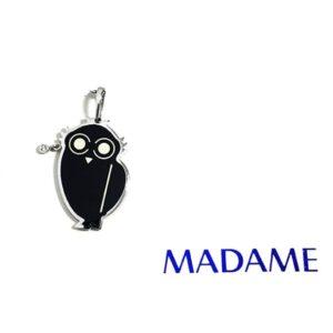 Civetta Madame gioielli con smalto nero | Gioielleria Caruso Napoli