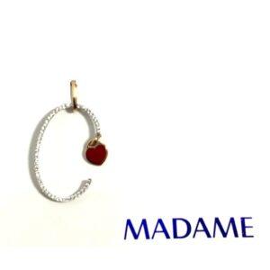 Lettera C Madame gioielli con diamanti | Gioielleria Caruso Napoli