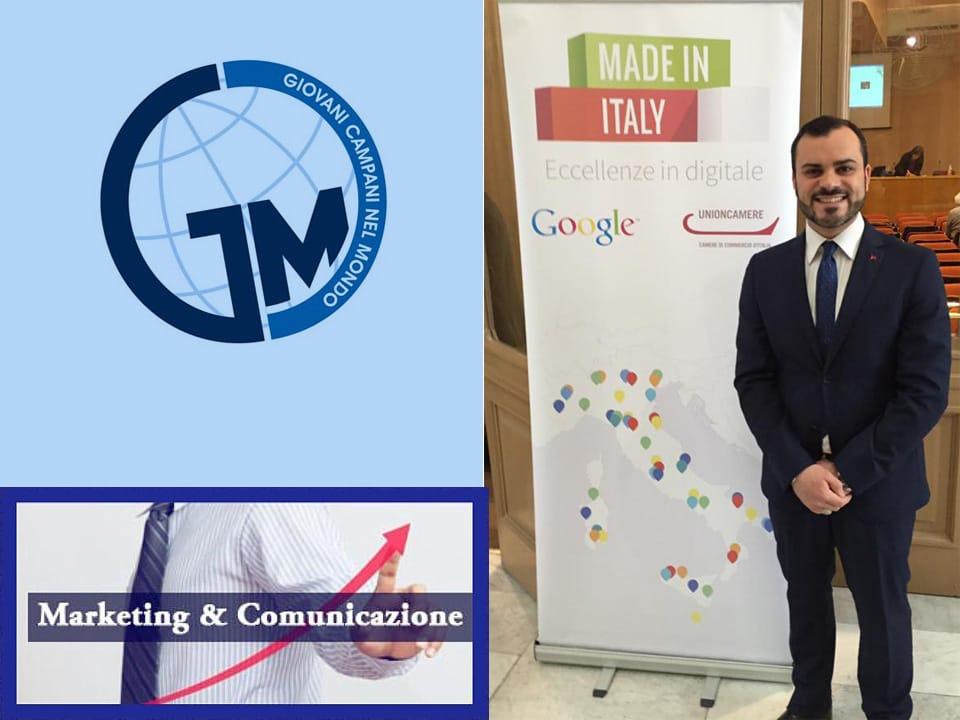 Associazione Giovani Campani Nel mondo | Gioielleria Caruso Napoli | Vincenzo Caruso delegate GCM