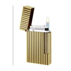 Golden Bronze finish lighter | Gioielleria Caruso Napoli