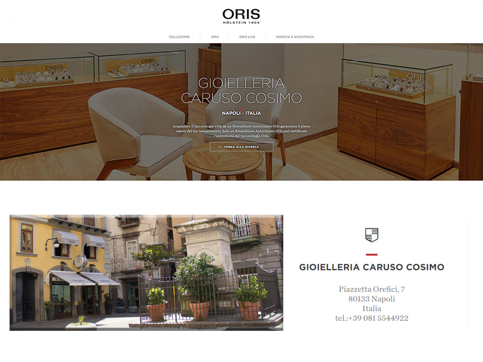 Oris Swiss Watches Napoli | Gioielleria Caruso